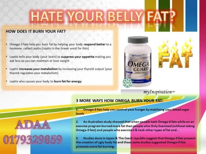 BURN UR BELLY FAT