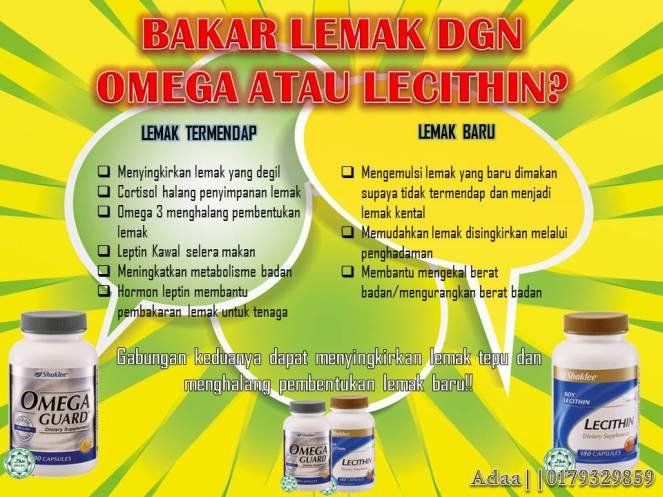 omega vs lecithin