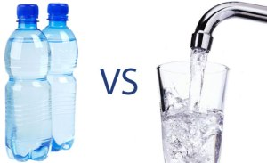 bottled water vs tap water
