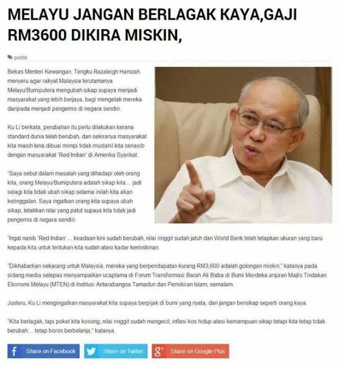 RAKYAT MALAYSIA MISKIN