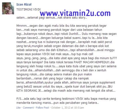 TESTI ROKOK VIVIX 3