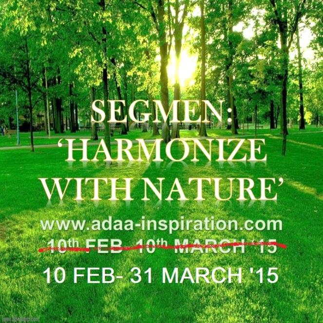 HARMONIZE WITH NATURE