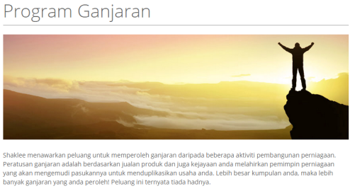 PROGRAM GANJARAN