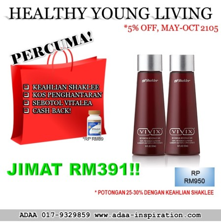HEALTHY YOUNG LIVING  (MAY-OCT 2015 ONLY)
