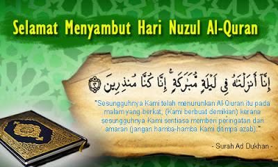 NUZUL AL-QURAN 1436 HIJRAH