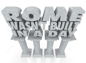 ROME WASNT BUILD I A DAY